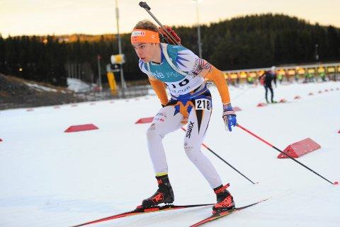 TIL TOPPS: Albert Riseth viste gode takter da han gikk til topps i prøve-NM i Granåsen og Trondheim i helga.