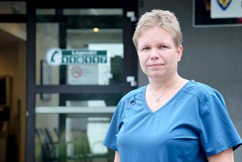 TIL VERDAL: Nina Kjenstadbakk-Steinkjer, som har jobbet som kommunelege i Snåsa, skal være kommuneoverlege i Verdal det kommende året.