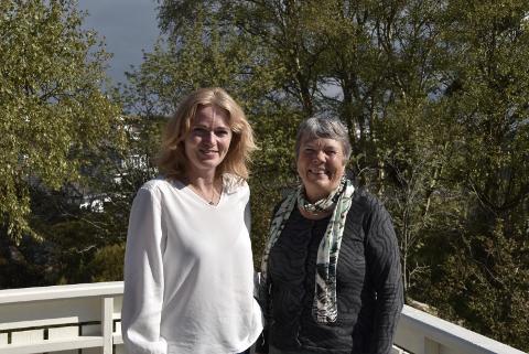 ILDSJELER: Margaret Mæland og Lovise Mæland har lagt ned mange timer gjennom årene for å kunne gi Tanangers innbyggere fritidstilbud og arrangementer. Nå er det snart klart for Tanangerdagene, noe som de begge skal er aktivt med på.