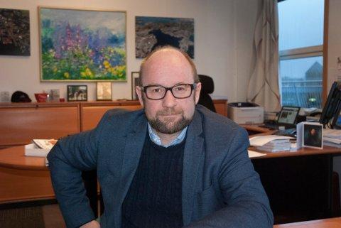 Konsernsjef John Stangeland i NorSea.