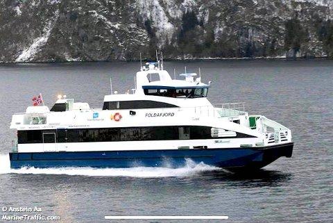 FØR OMBYGGING: Helgøy Skyssbåt skal bygga om båten og auka passasjerkapasiteten til 140 personar.