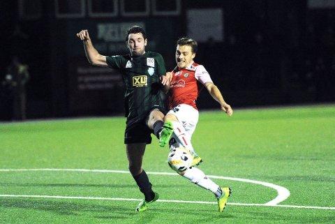 GOD KAMP: Staal imponerte i 1-1-kampen mot 2. divisjonslaget Bryne. Foto: Tarjei Sel, Jærbladet
