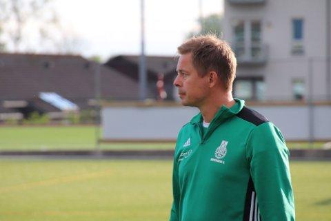 FORNØYD: MIL-trener Ingar Bergeland var mest fornøyd med spillet etter pause. Han leder en god, jevn og brei tropp med stor konkurranse om plassene på laget.