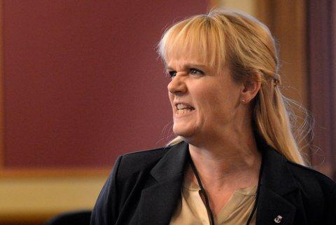 Kristin Surlien (H) var ikke fornøyd med at Arbeiderpartiet snudde i saken om massedeponiet på Nordby.