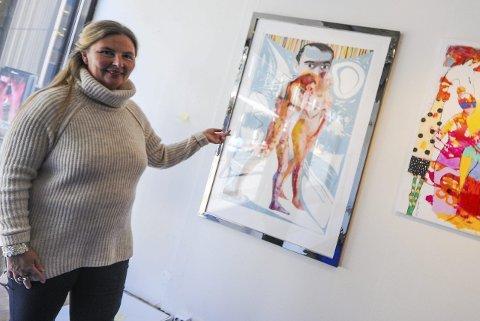 STOR: Sverre Bjertnæs tjener millioner og er blant landets hotteste kunstnere. Han samarbeider blant annet med Bjarne Melgaard.