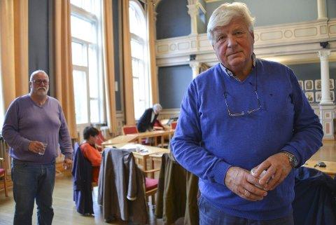 Ønsker FLERE: – Vi bør se om det er mulig å øke til flere enn 50 midlertidige mottaksplasser i Porsgrunn, sa Leif Bryn (Bnp) i torsdagens formannskap. foto: lars ravn