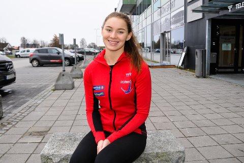 AKTIV: Jonette Kristiansen Pflug har alltid vært veldig aktiv, og idretten ble hennes måte å få orden på diagnosen ADD. Foto: Kristian Holtan