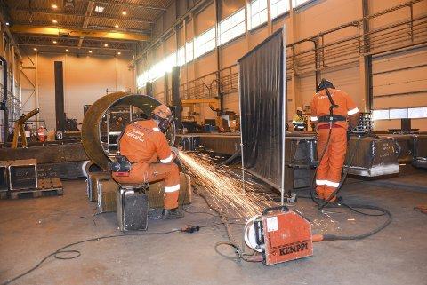Vendereis: Agility Subsea Fabrication gjør vendereis og kommer tilbake til Grenland etter to år i Tønsberg.foto: lars ravn