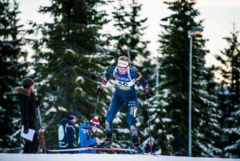 IMPONERER: Ida Emilie Herfoss fra Drangedal er nå nummer tre i norgescupen sammenlagt.
