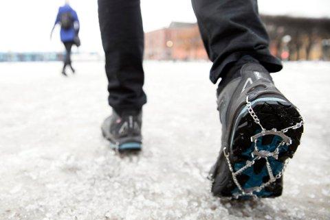 Gå opp en skostørrelse på vinterstid, så blir det plass til både ullsokker og ekstra såle på de kaldeste dagene. Foto: Ole Berg-Rusten, NTB scanpix/ANB