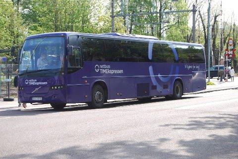 HØYSESONG: Sommeren er høysesong for ekspressbusser, og innstilte tog har gjort sommeren enda mer travel.