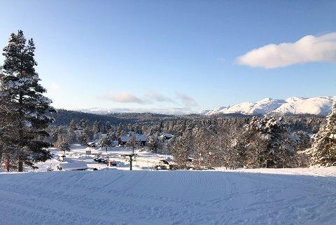 MYE SNØ: Det er godt med snø på Rauland, en destinasjon mange telemarkinger foretrekker om vinteren.