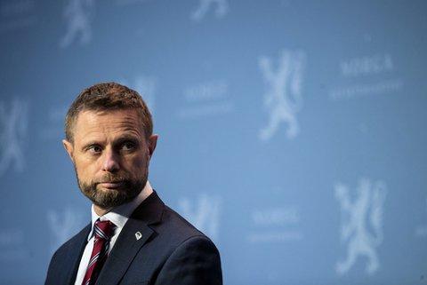 Helseminister Bent Høie (H)