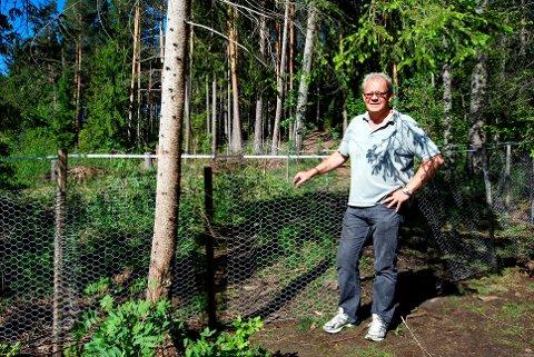 I SKOG OG MARK: NEL-millionæren Magne Myrehaug liker seg i skogen, ved sjøen og på fjellet. - NEL var en fantastisk mulighet som har kastet av seg mye mer enn jeg hadde drømt om i min villeste fantasi, sier 63-åringen som nå er pensjonist.