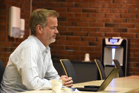 """GODE SØKERE: Rådmann Per Sturla Wærnes er fornøyd med søkerne til den nyopprettede stillingen """"organisasjonssjef""""."""