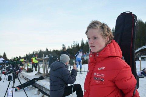 Sander Steinmoen imponerte under Hovedlandsrennet i ettermiddag.