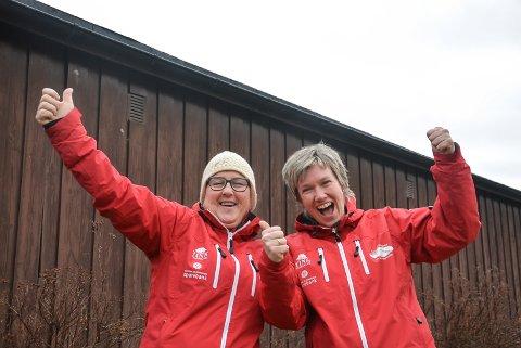 Aud Hegna Finnekåsa og Anne Skaug Nisi kunne juble for dagens avgjørelse. det blir gaustaløp i år også.