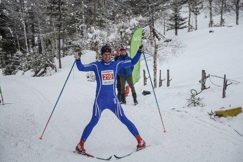 Tor Halvor Bolkesjø gikk til topps i dagens gaustaløp.