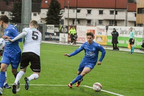 Ardian Rexhepi mot Hønefoss.