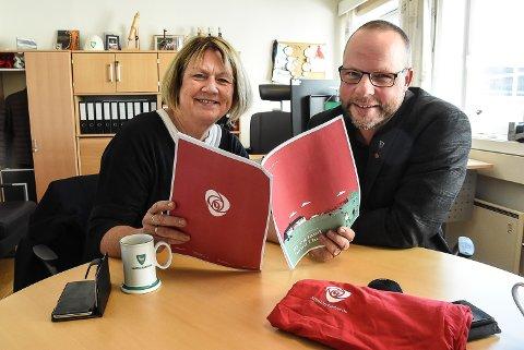 HAR UTFORDRINGER: Bjørg Tveito Lundefaret, ordfører i Nome og Bengt Halvard Odden, ordfører i Hjartdal er skjønt enige om at distriktene må prioriteres høyere fra sentralt hold.