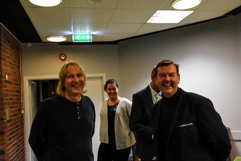 Jostein Forsberg og Runar Lia kunne smile etter kveldens vedtak.