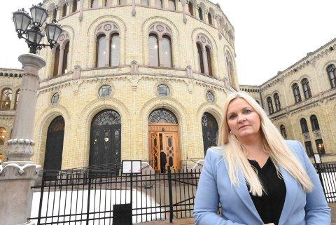 BEKYMRET: Åslaug Sem-Jacobsen  i familie- og kulturkomiteen på Stortinget er bekymret for kulturminnene i Telemark.  De har ikke kommet godt ut i budsjettet, sier Sem-Jacobsen.