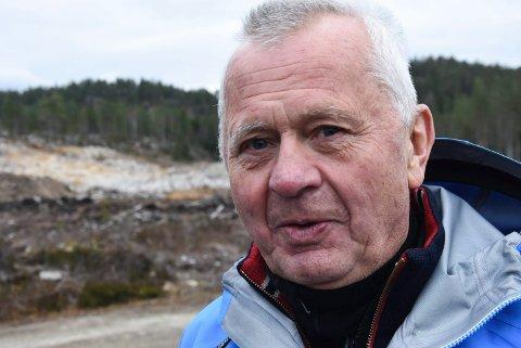 SKAL GREIE DET: Styreleder Terje Bakka er innstilt på å innfri de langsiktige planene om å gjøre Grønkjær skisenter til et nasjonalt senter for menensker med nedsatt funksjonsevne.