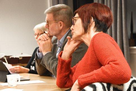 GIR REKTOR VALGET: Knut Duesund (KrF), Marit Holm (Rødt) og resten av Utvalg for oppvekst, kultur og idrett tok en avgjørelse angående leksefri skole.