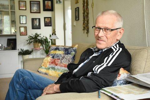 OVERLEVDE SÅVIDT: Hans Petter Andersen var en hårsbredd fra å dø da  hovedpulsåren sprakk 3. mai. Han har kjempet seg tilbake.