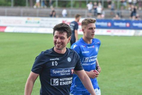 SAMME LAGET: Dokken starter med samme lag som mot Mjøndalen.