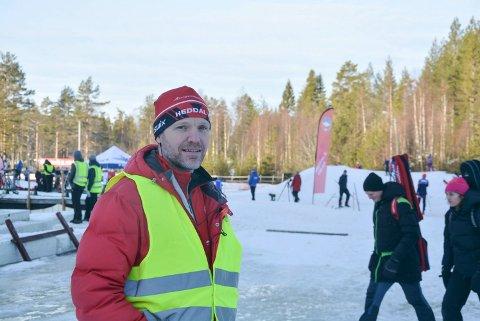 Heddal skiskyting. Håkon Engstu
