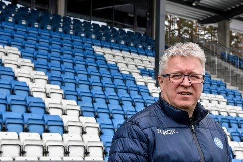FORSTÅR: Per Arne Hansen, daglig leder i NFK, skjønner at folk er skuffet over at NFK ikke dro i land seieren mot Tromsdalen.