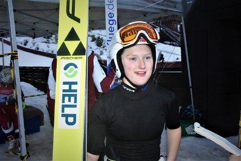 TATT UT: Heidi Dyhre Tråserud er tatt ut til Ungdoms OL i Lusanne I Sveits i januar.