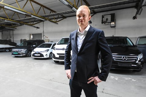 FIRMAEIER: Tor Einar Bakke Løkka har startet firmaet Prime Auto AS i hjembyen Notodden etter flere år i bilbransjen i hovedstaden.
