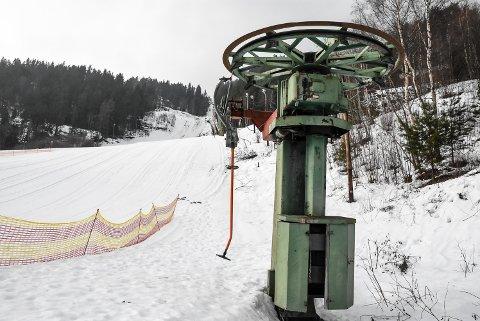 MANGLER: Storeskar skisenter mangler godkjenning for å kjøre heisen. Snøgg Ski hadde håpet på midlertidig godkjenning denne vinteren.