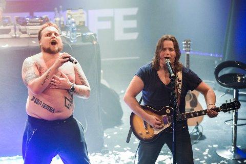 """Stian """"Staysman"""" Thorbjørnsen og Lasse """"Lazz"""" Jensen gleder seg til å spille på Notodden igjen i mai - men først skal de ha tidenes rølpefest i Oslo Spektrum."""