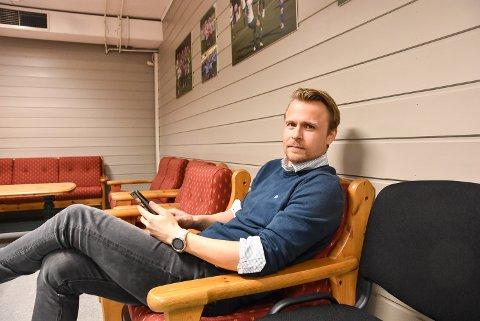 VÅKENETTER: Ola Wårås innrømmer at han har hatt noen våkenetter som Snøgg-leder, men gleder seg nå over at klubben er på riktig vei også administrativt. Sportslig har det gått bra – selv om man hatt problemer med å finne folk som har tatt på seg styreverv.