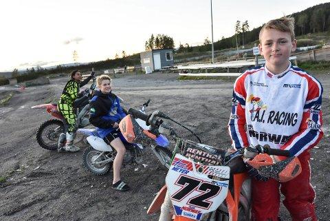 MOTIVERTE: NMK Notodden. Simen Pedersen og Andreas Flåta Meyer. Guttene trener året rundt for å kunne konkurrere på verdensbasis.