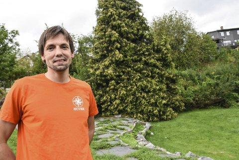 Kristen: Benjamin Karlsen fra partiet De Kristne i Notodden kan bli historisk. Han kan bli den første fra partiet som får en kommunestyreplass i Telemark.