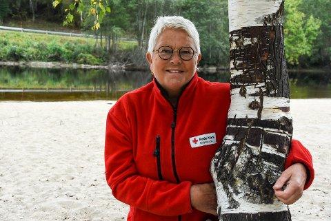 SAMARBEID: Tora Ødegaarden er ny leder i Notodden Røde Kors, og vil prioritere to ting den første tida; rekruttering og samarbeid.