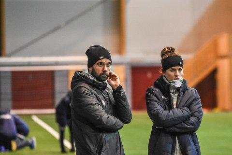 TOPP 3: Frode Telseth (t.v) mener at laget kan være med å kjempe i toppen av 2. divisjon til våren.