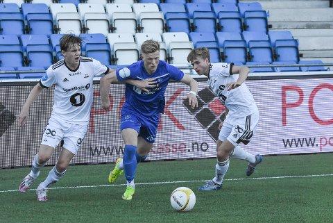1-0: Jørgen Voilås sendte NFK i ledelse i Larvik.