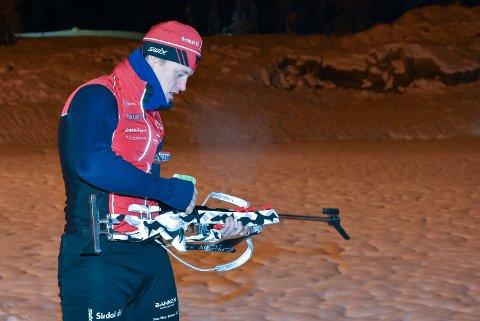 HJEMMEBANE: Skiskytter Even Uhlin Engstu kan få oppleve å gå NM på hjemmebane i 2025. Nå er det seriøse planer på gang for et regionalt samarbeid mellom idrettslag og klubber i Notodden og Tinn kommuner.