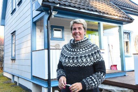 LEIER UT: Thorhildur Snæland, blant venner kjent som Tota, er én av stadig flere som benytter seg av Airbnb-ordningen - både som ekstrainntekt og når hun reiser selv.