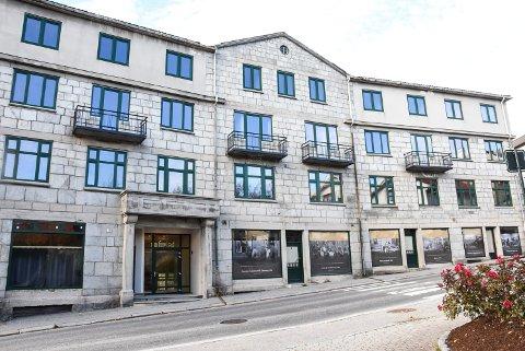 På gateplan: Her i 1. etasje i Campus Notodden skal det etter planen bygges leiligheter for funksjonshemmede.