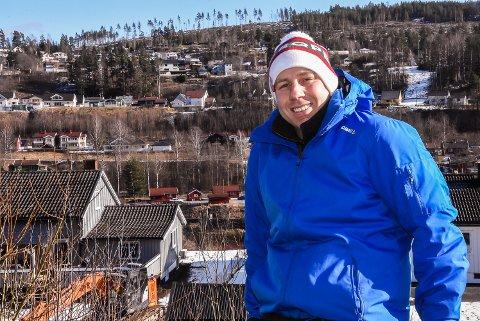 SPENT: Jon-Olav er spent og gleder seg til å se det ferdige resultatet av filmen på lerretet.