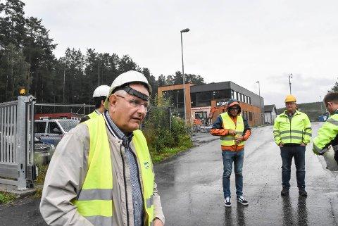 PÅ JAKT: Styreleder Helge Granlund i IRMAT AS må ut på jakt etter toppsjef til selskapet  igjen - bare et drøyt år etter forrige gang.