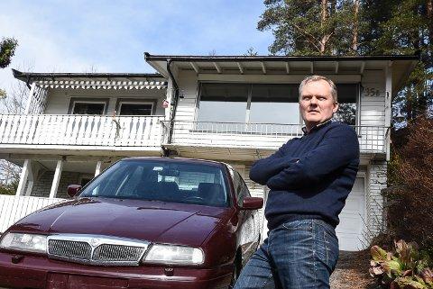 VANT FRAM Frank Steinsvik på Notodden klaget på eiendomsskatten sin - og fikk fullt medhold i Skatteetaten.