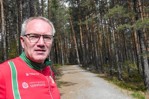 GLAD: Egil Simones er glad han også i år kan invitere til Tinnemyra Rundt. Det var ingen selvfølge i 2020.