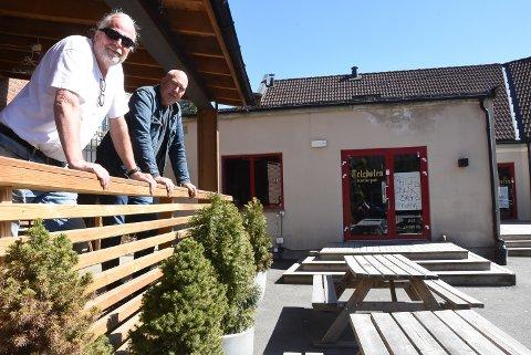 NYE DRIVERE: Nils Alstad gleder seg til at Bellman-gjengen med styreleder Ole Richard Moen i spissen overtar puben ved Torvet.